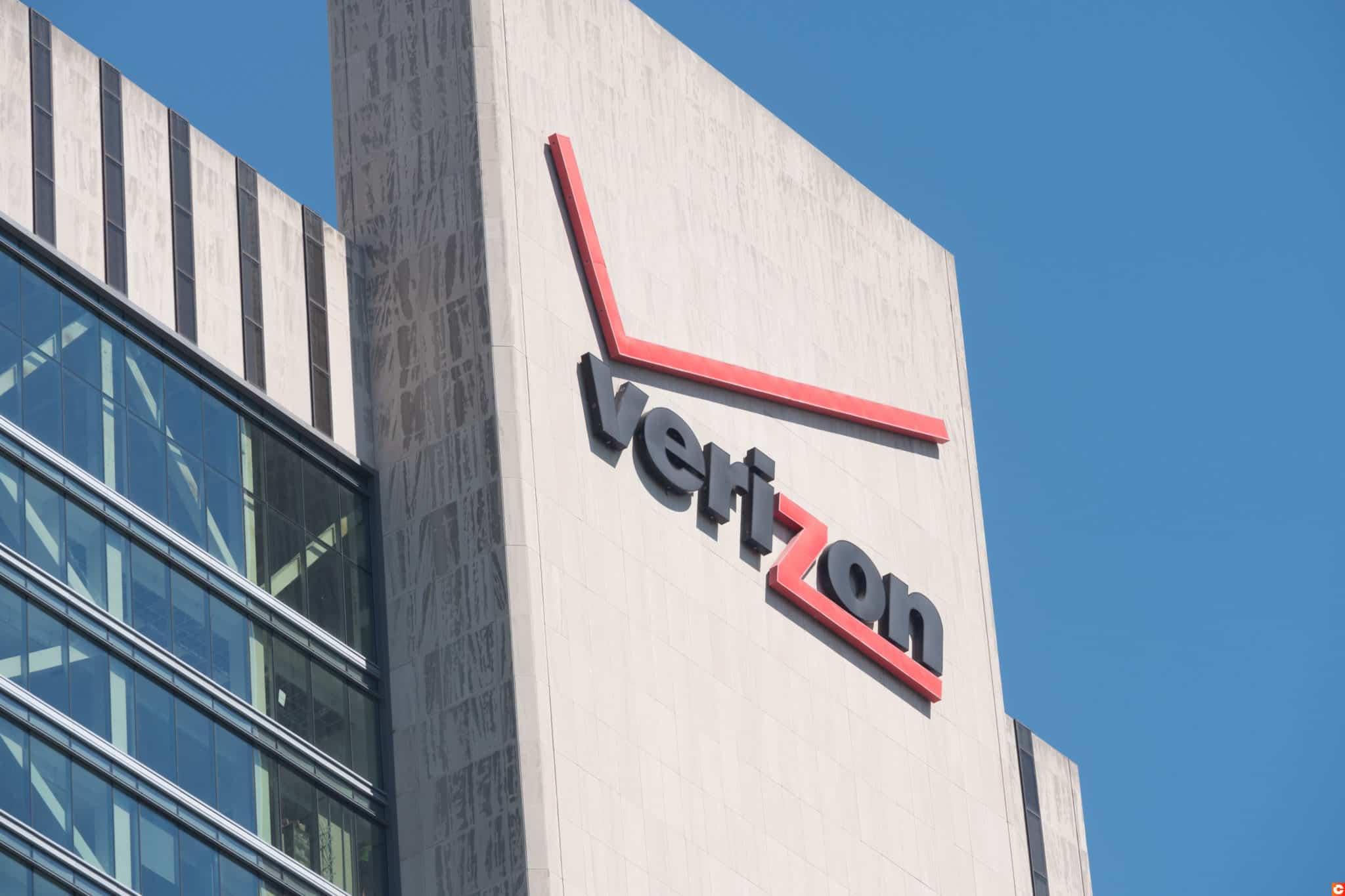 Verizon blockchain transparence