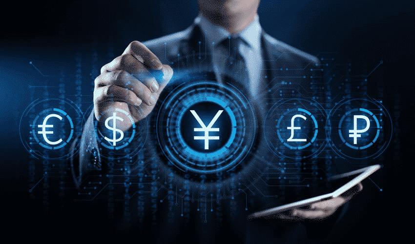 Yuan, yen, dollar, euro