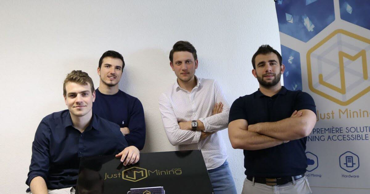 L'équipe de Just Mining