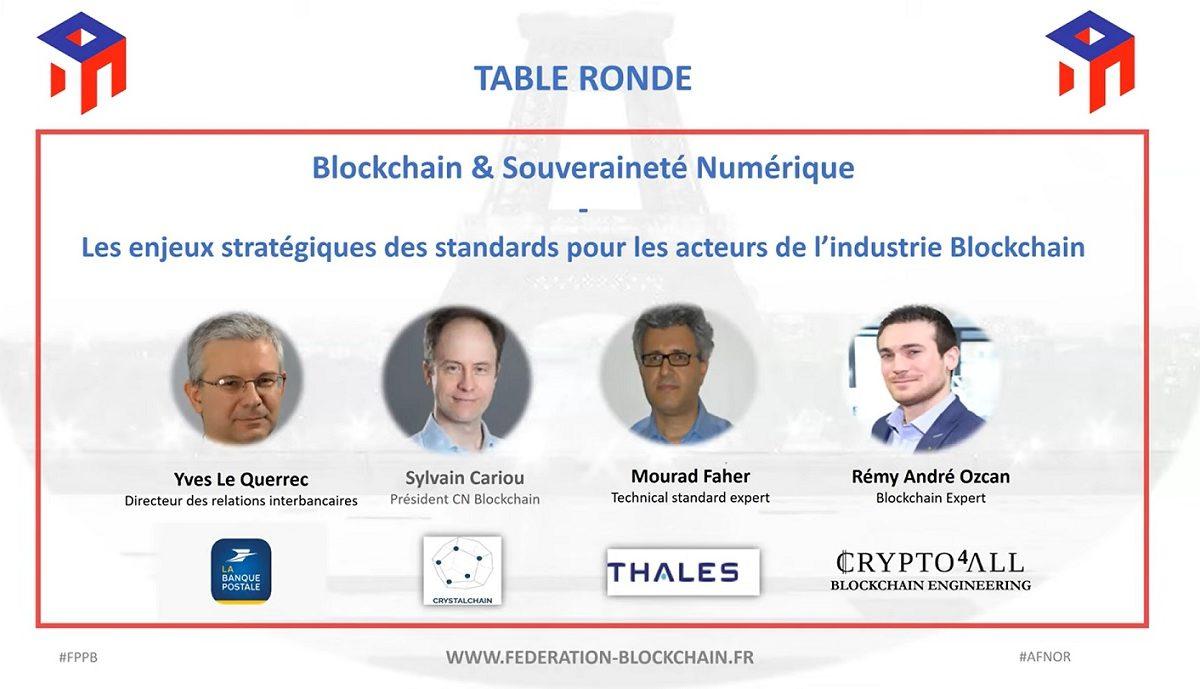 Table ronde : Blockchain et souverainté numérique