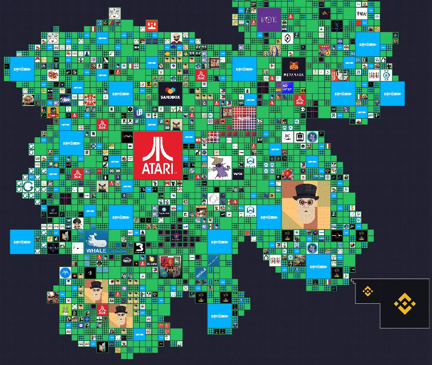 the sandbox map presale 3-4