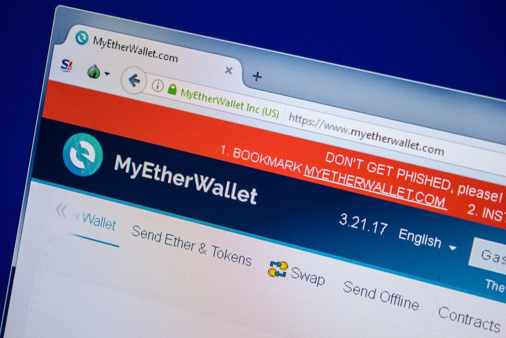 myetherwallet bitcoin red