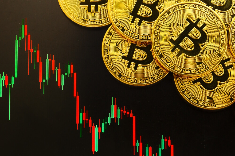 Caídas de Bitcoin BTC