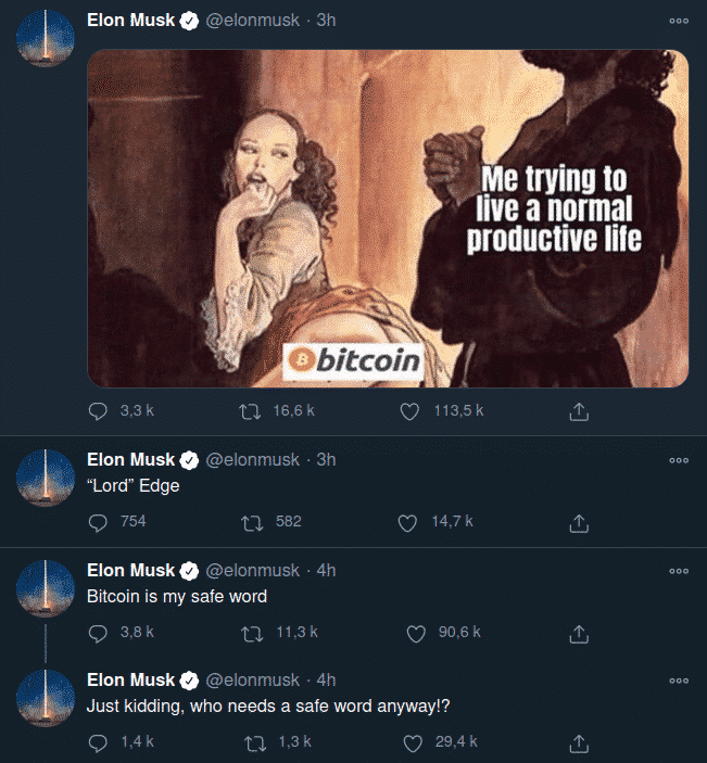 Bitcoin is my safe word