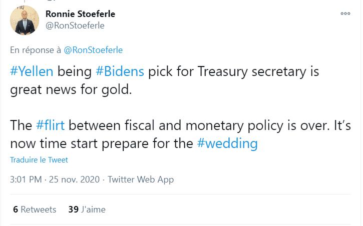 Tweet de Ronnie Stoeferle