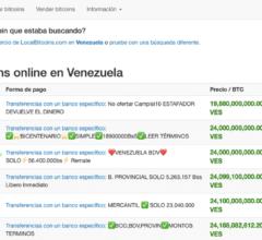 localbitcoins Venezuela Colombie