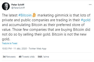 Peter Schiff Bitcoin BTC or