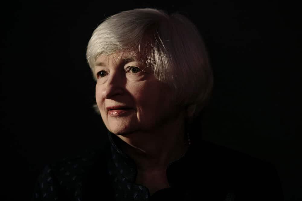 Janet Yellen crypto monnaies