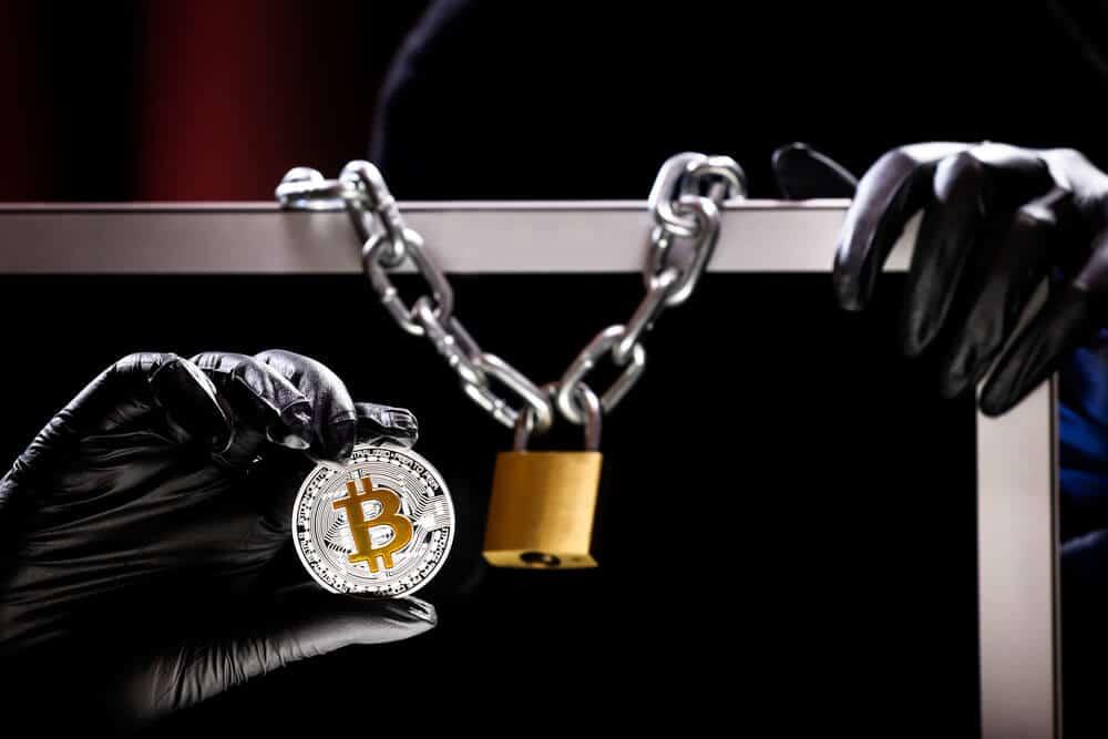 ransomware cryptomonnaies