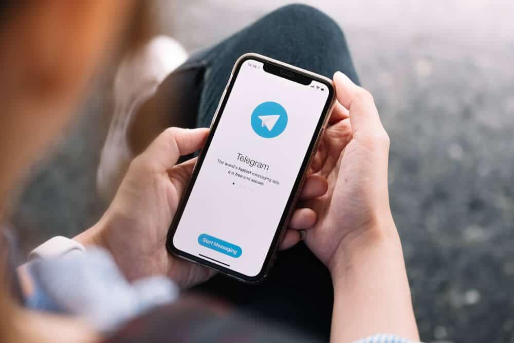 telegram messagerie