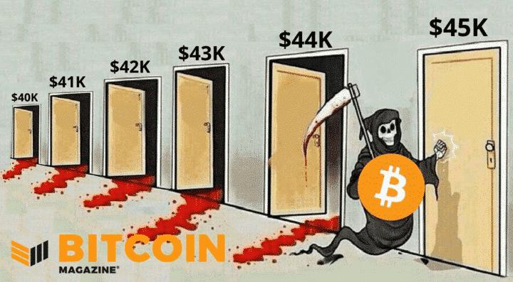 Bitcoin 45 000 $