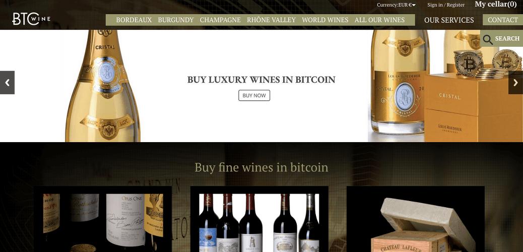 bitcoin vin BTC Wine