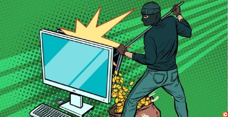 Illustration arnaque crypto scam