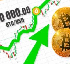 Bitcoin BTC USD 50000 dollars