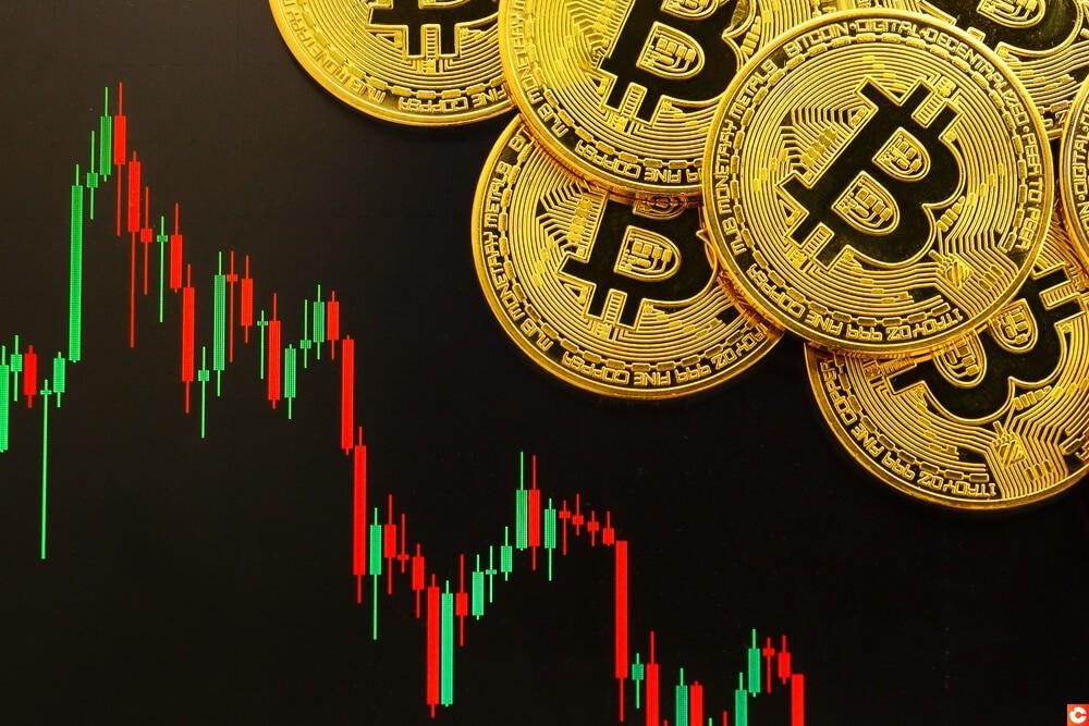 prix bitcoin en baisse