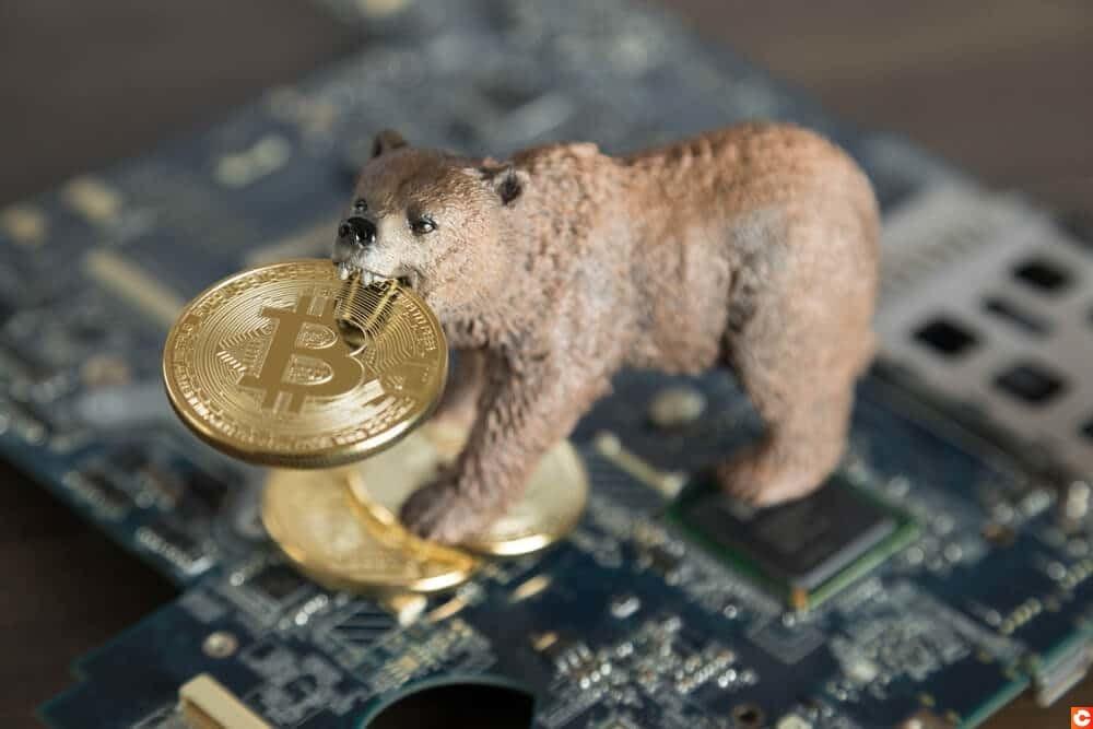 Prix bitcoin baisse