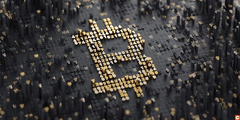 Evolution bitcoin vus par simetri