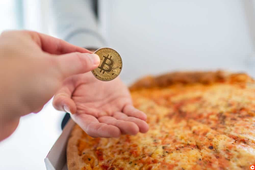pourboire bitcoin livreur pizza