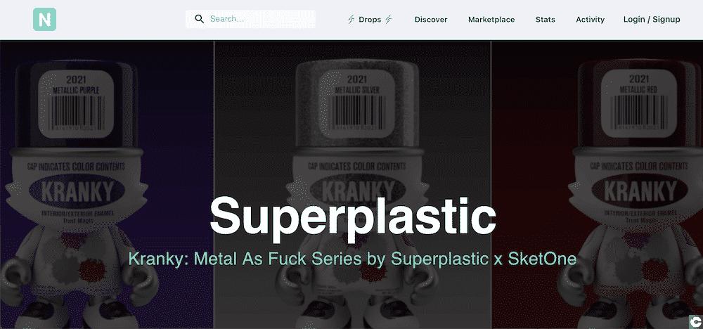 Superplastic jouets artistiques collectionneurs.
