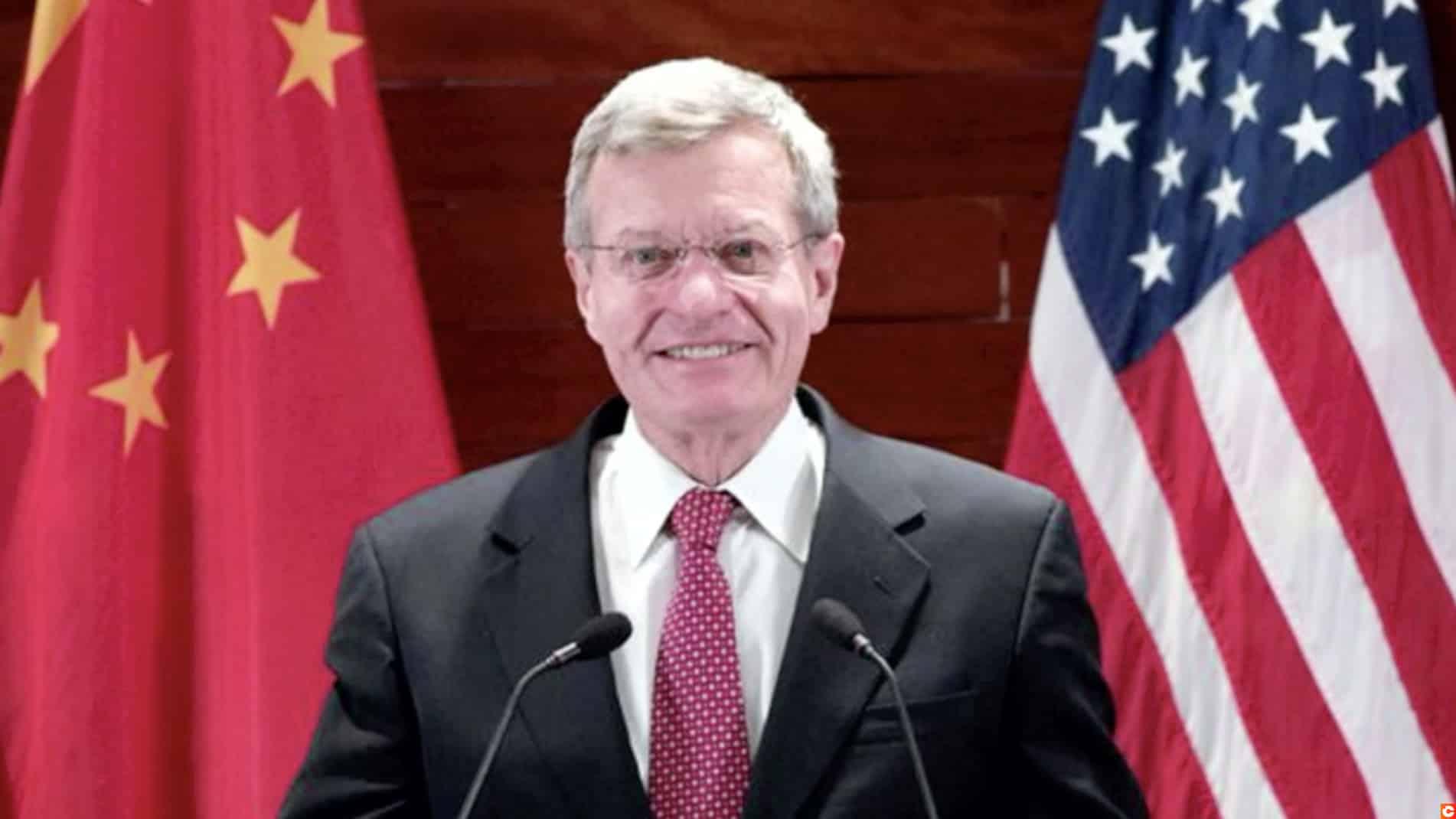 Maxwell Baucus Sénateur et Ambassadeur rejoint Binance