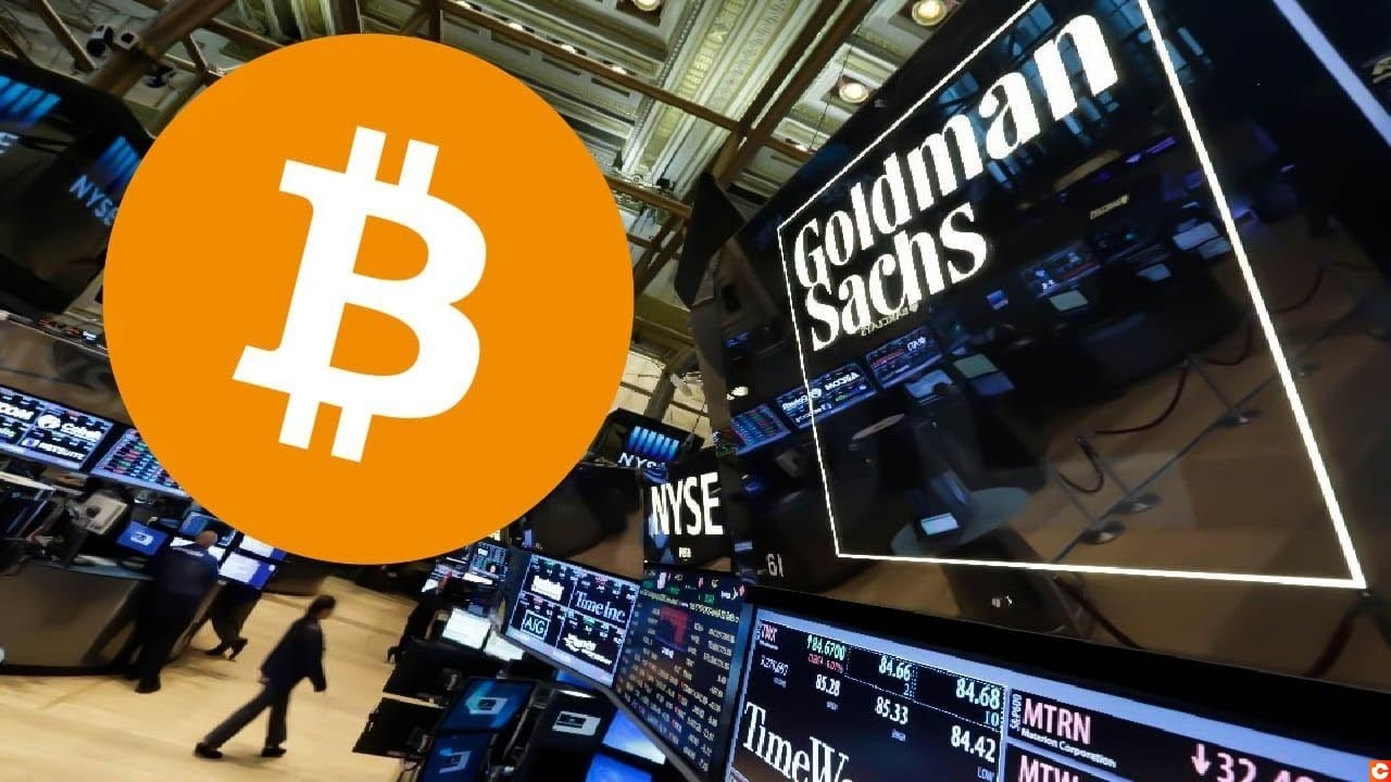 or bitcoin goldman sachs