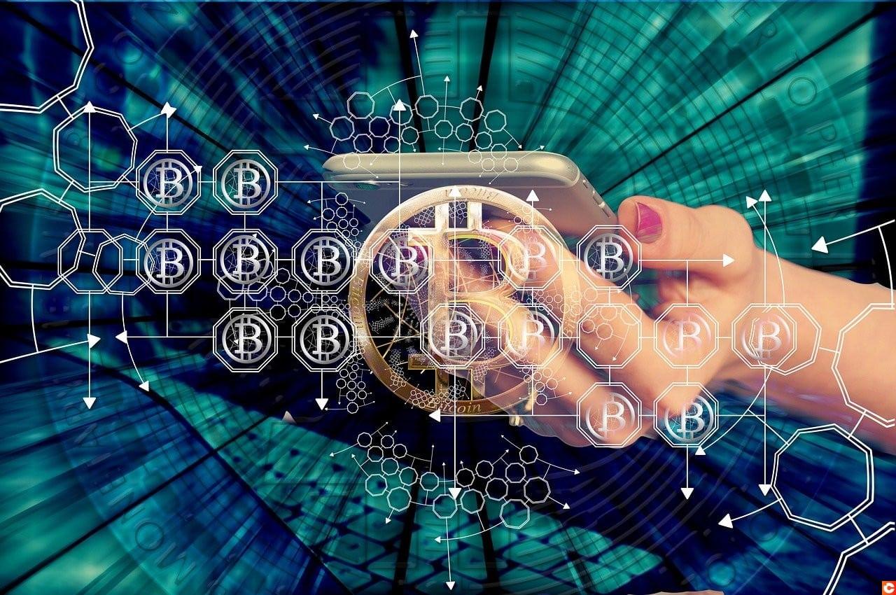 femme crypto blockchain