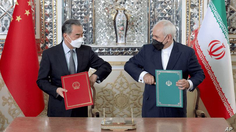 Signature du partenariat économique iran chine pour 25 ans