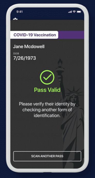 Un pass valide