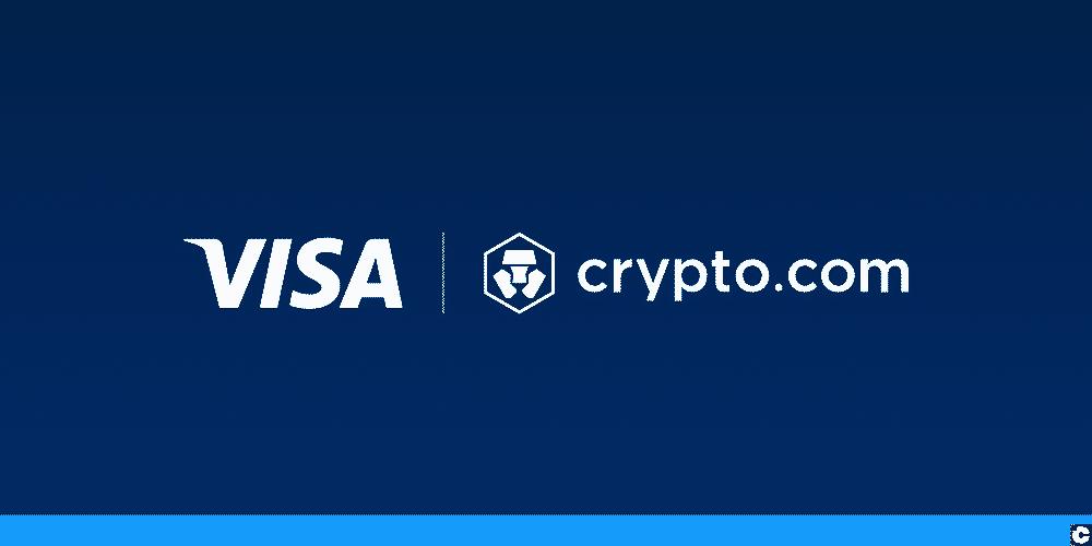 Visa et crypto.com