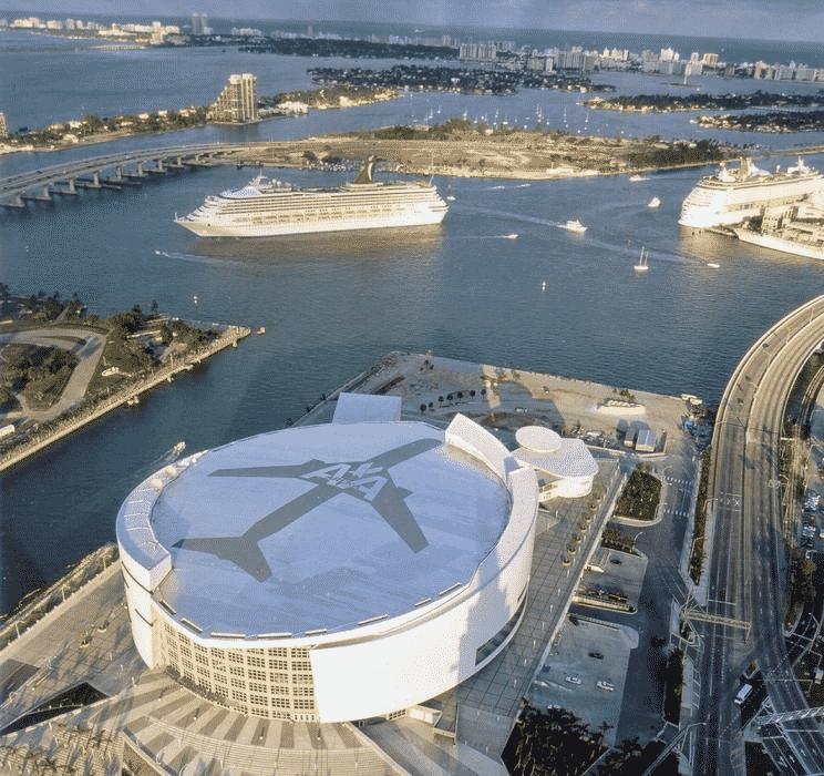 Stade NBA des Miami Heat