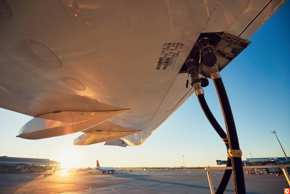 ravitaillement avion blockchain