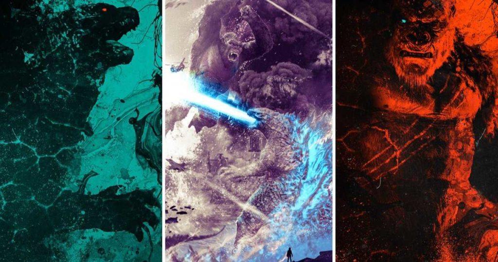 Poster King Kong vs Godzilla
