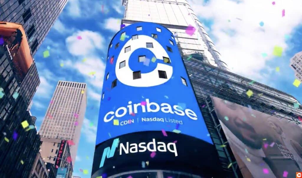 Coinbase rentre en bourse