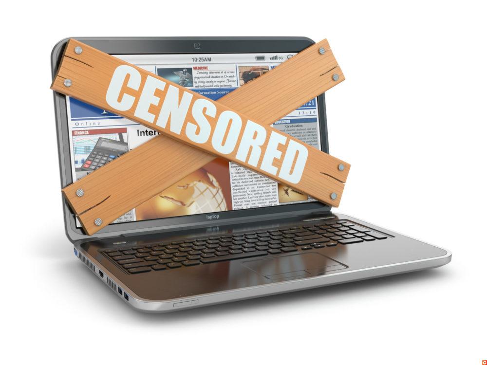 Censure réseaux sociaux