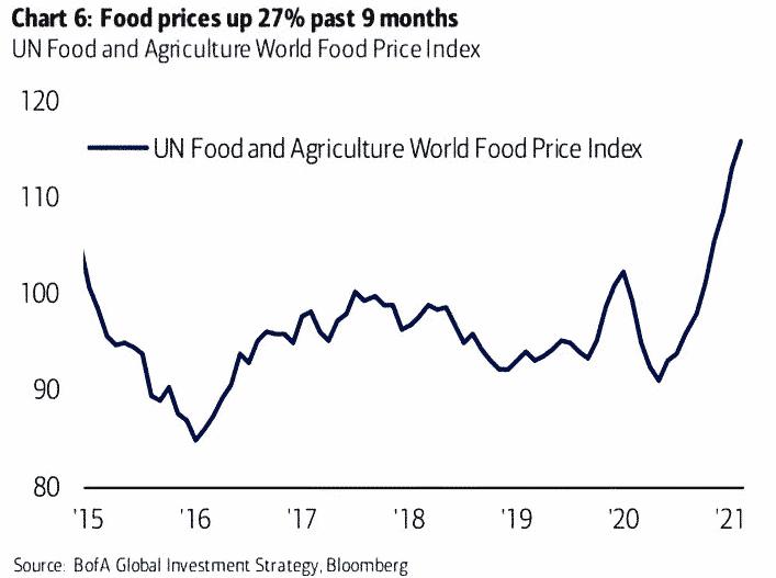 UN World food index