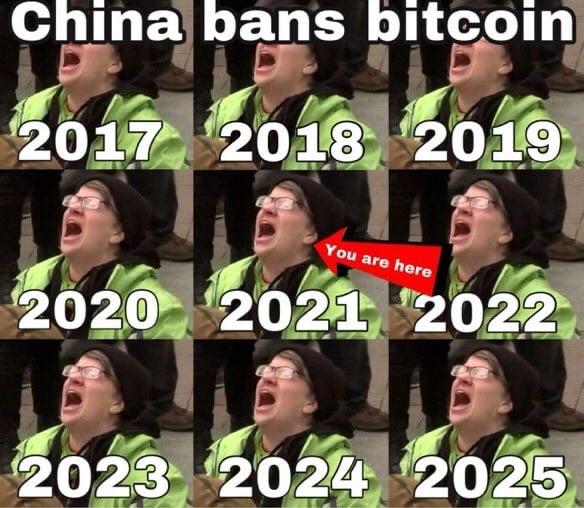 china bans bitcoin repetitive fud