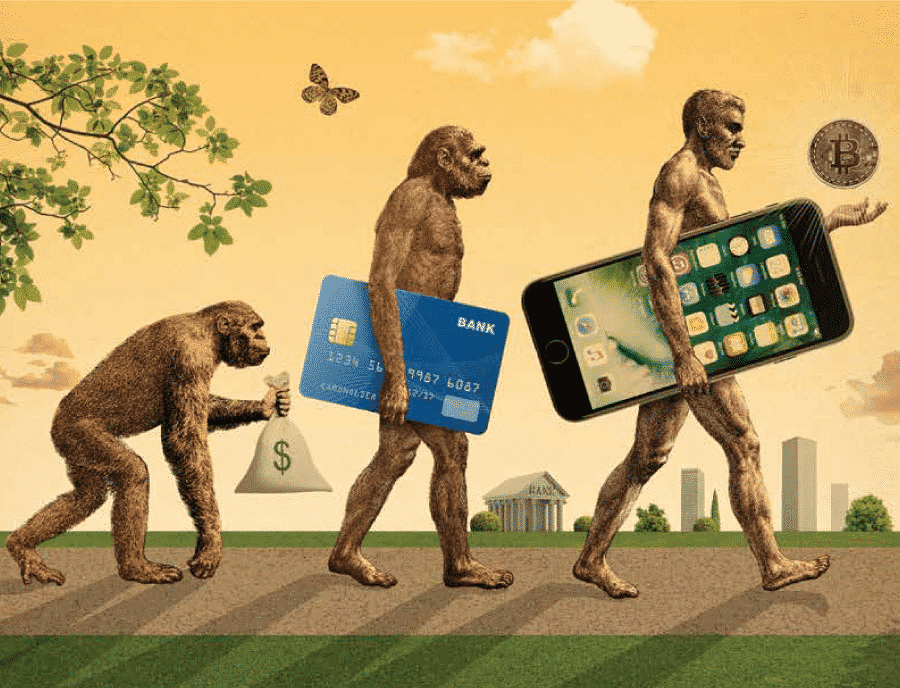 l'évolution de l'argent