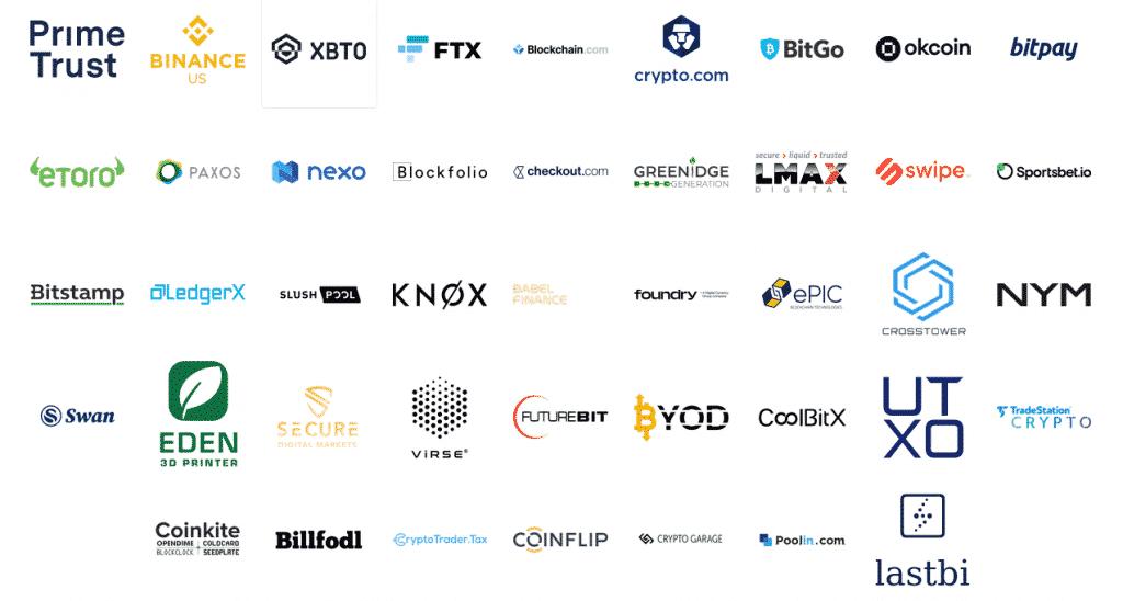 Listes des sponsors de la conférence bitcoin 2021 Miami