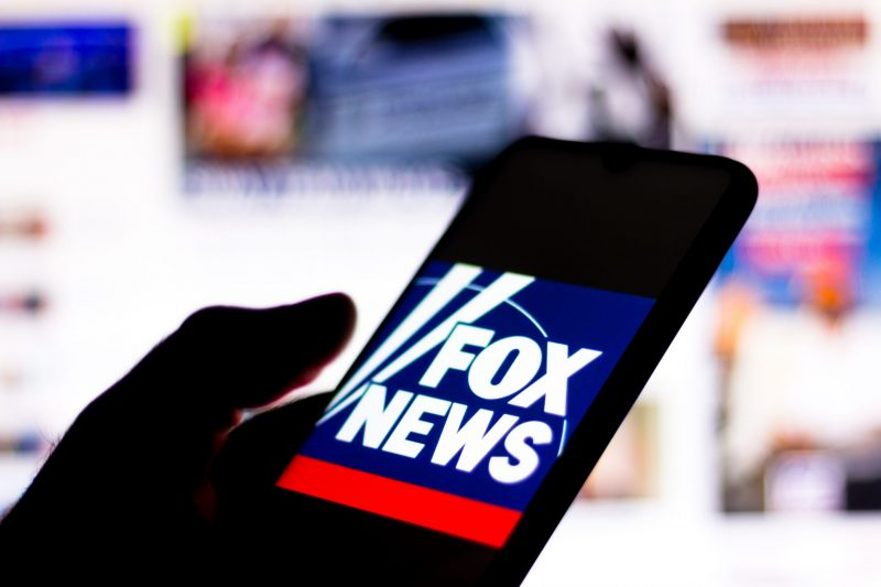 June 15, 2020, Brazil. In this photo illustration the Fox News Channel logo seen displayed on a smartphone.
