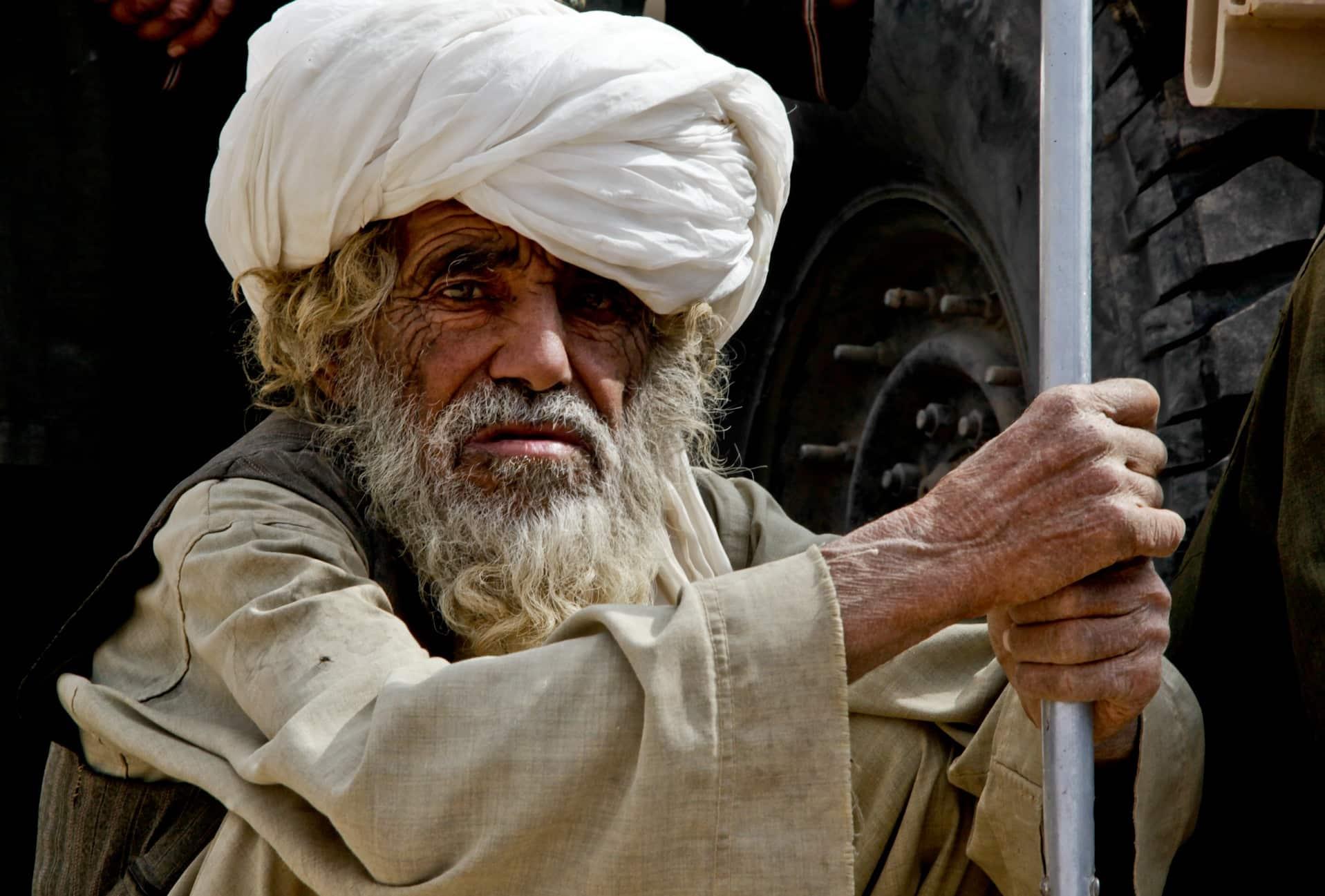 afghanistan, man, old