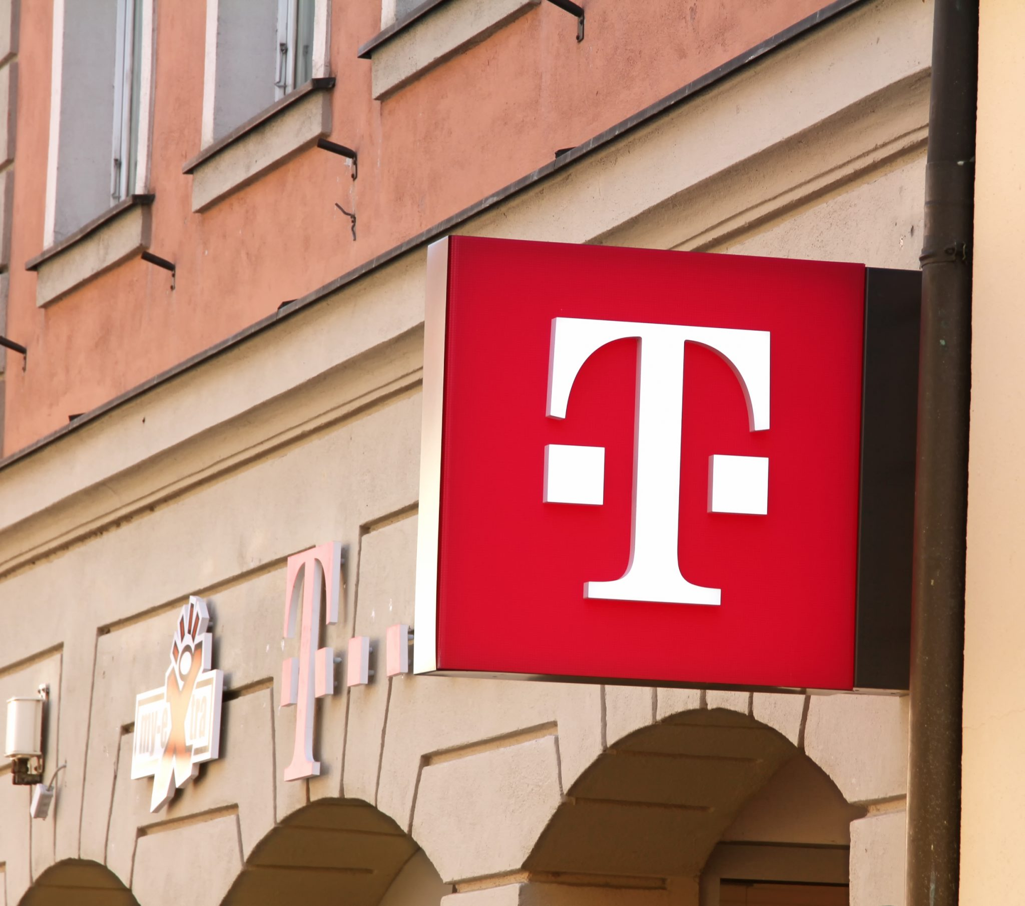 Ansbach, Germany : T-Mobile is the brand name used by the mobile communications subsidiaries of the German telecommunications company Deutsche Telekom.