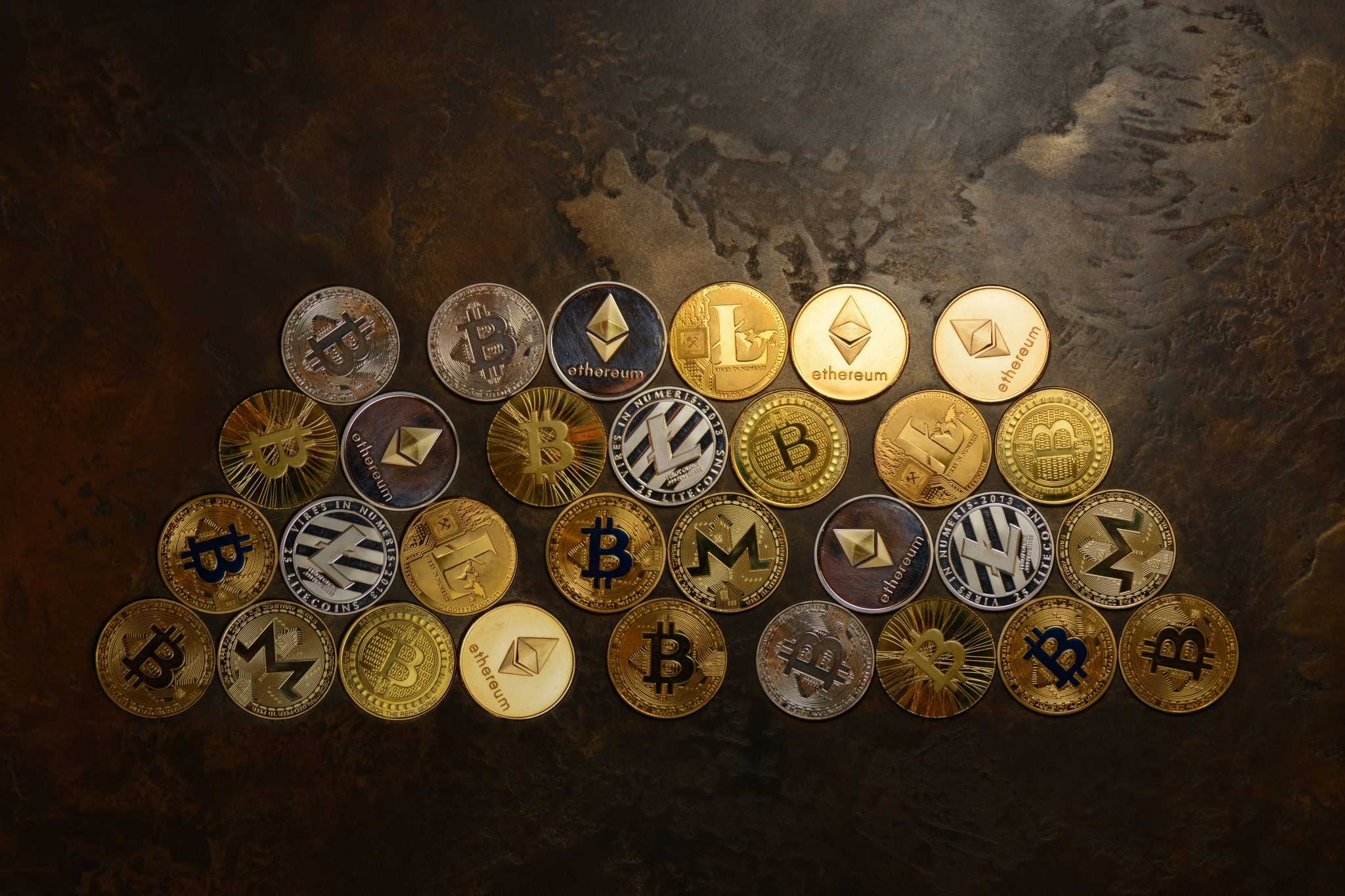 background form crypto currency coins
