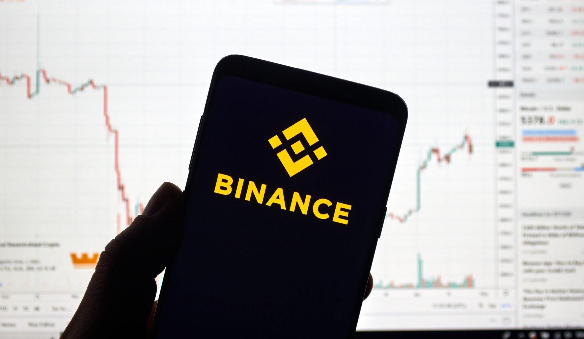 Binance cryptocurrency exchange logo