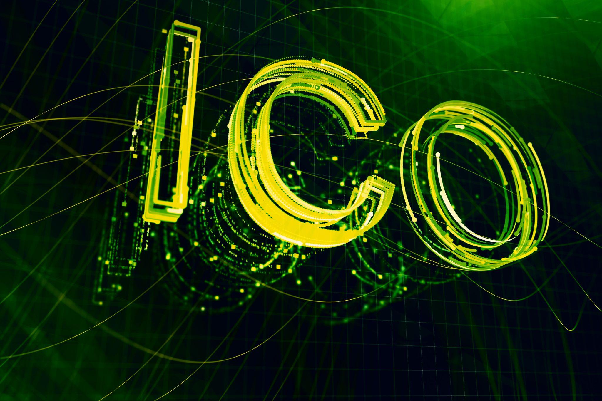 Creative ICO backdrop