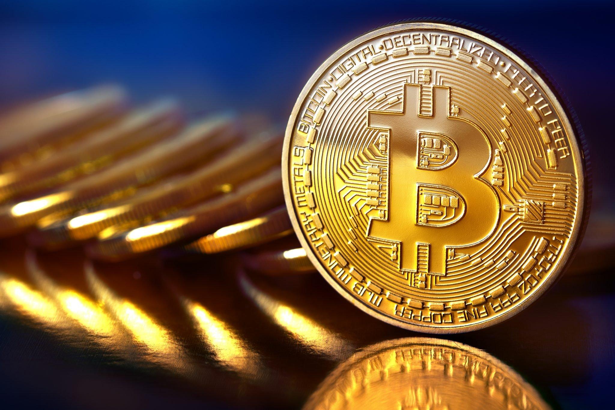 Golden Bitcoins