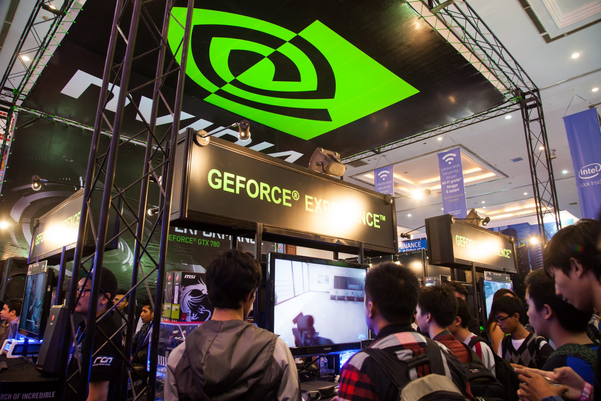Nvidia in Indo Game Show 2013