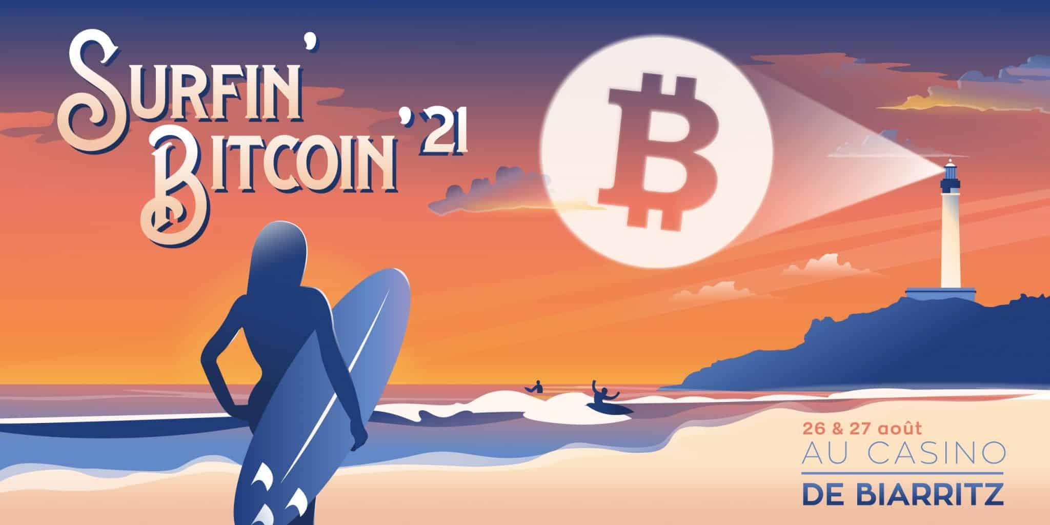 Surfin'Bitcoin event
