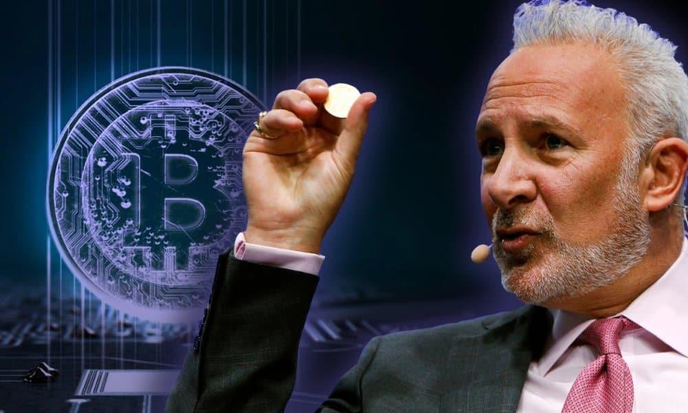 Bitcoin (BTC): Peter Schiff prédit l'effondrement du marché de crypomonnaies