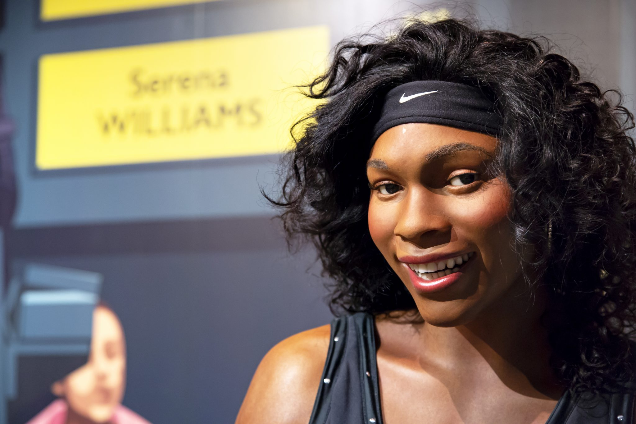 Serena Williams in Madame Tussauds of New York
